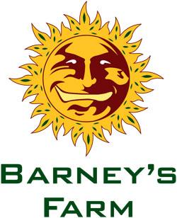 Barney's Farm cannabis seeds logo