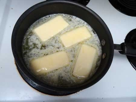 Medical marijuana is often ingested via edibles. Here is an example of making weed butter with cannabis to make edibles.