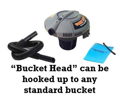 Get a Bucket Head on Amazon.com (or get them much cheaper locally at Home Depot)
