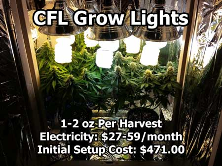 CFL grow lights