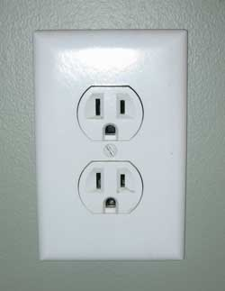 Electrical outlet - how much electricity does it take to grow cannabis?