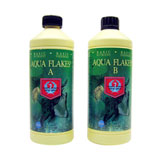 House & Garden Aqua Flakes A & B - these hydroponic cannabis nutrients work great - in fact they were even tested on real cannabis plants!