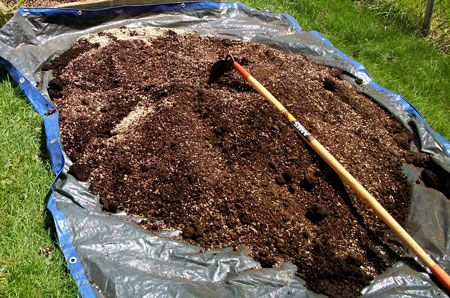 Learn how to mix up your own marijuana super soil!