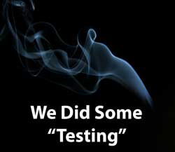 We did some testing on our cannabis buds to see whether flushing would make a big difference in the quality