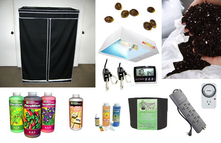 Supplies list for cannabis grow - copy this grow journal with these supplies!