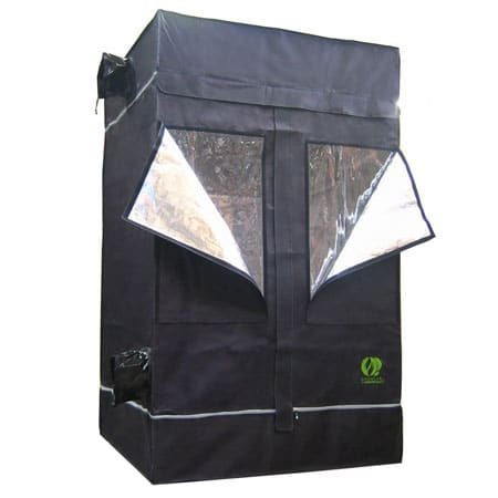 An example of a cannabis grow tent