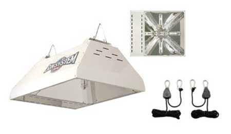 Get an LEC grow light for growing cannabis on Amazon.com