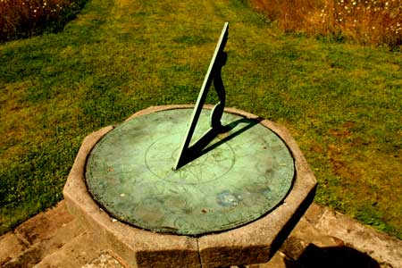 A sundial shows the time - how much time does it take to grow a cannabis plant?