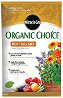 Get Miracle Gro Organic Choice potting soil on Amazon.com!