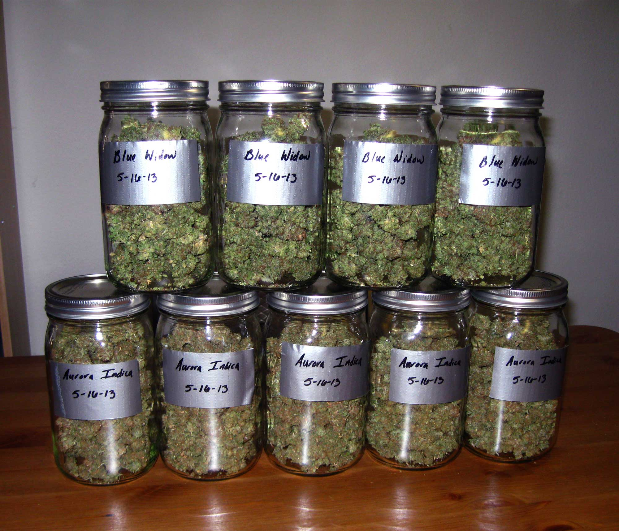 Original Guide To Drying And Curing Marijuana Buds Grow Weed Easy