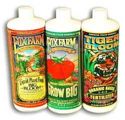 Fox Farms Nutrient Trio for Soil