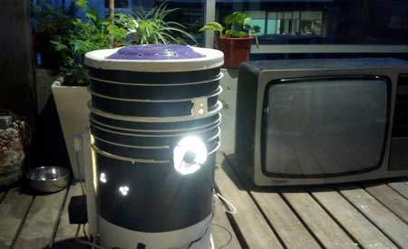 Example of a DIY Space Bucket for growing marijuana