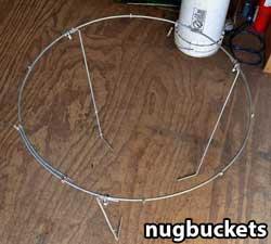 Modifed heavy duty peony cage for main-lining - Nugbuckets
