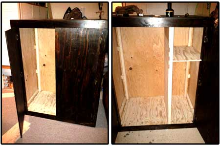 Take a look at the grow box im4potato built for his garage