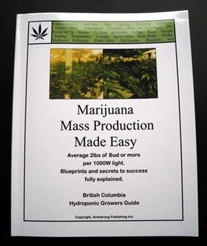 Marijuana Mass Production Made Easy guide - available at GrowBCBud.com