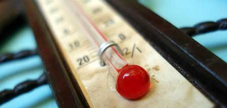 Don't let the temperature get too hot or too cold in your marijuana grow room