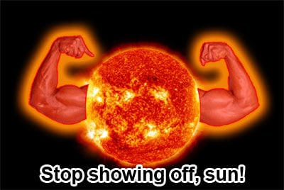 The sun has obviously been hitting the gym!