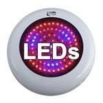 LED grow lights are low heat, low electricity marijuana grow lights