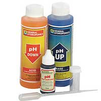 A pH test kit can be used to manage the pH in your cannabis grow