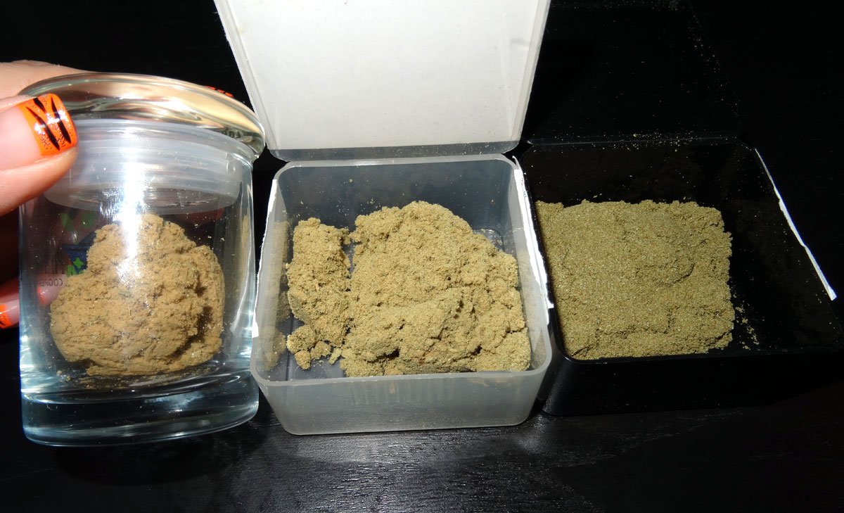How To Make Dry Ice Hash From Buds Trim