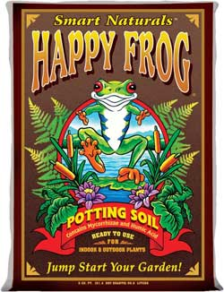 Fox Farms Happy Frog soil is a great soil starting mix for growing cannabis - just add about 30% perlite for the best results