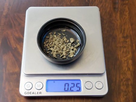 The 25 micron Bubble Hash