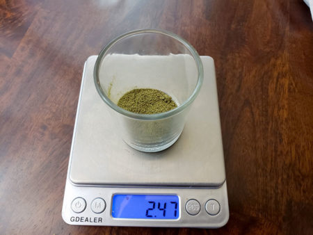 Dry Ice Hash (160 micron)