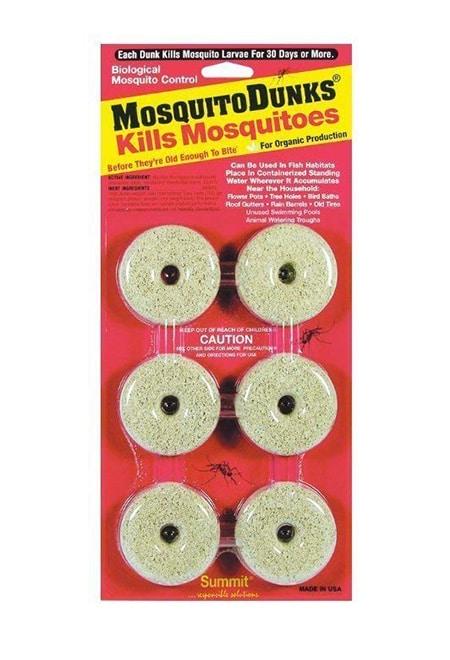 Mosquito dunks kill fungus gnat larvae