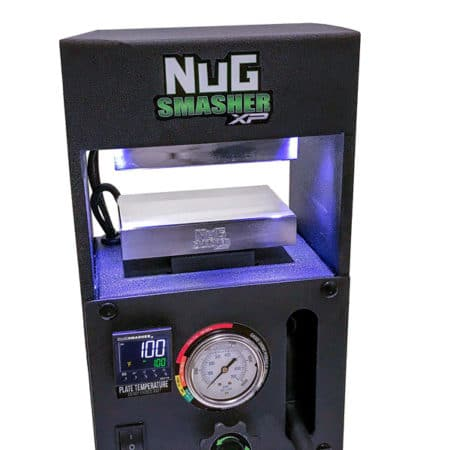 The NugSmasher XP - a high-quality hydraulic rosin press