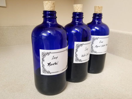 3 bottles of tincture ready to go!