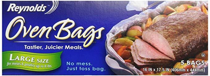 Get oven bags on Amazon