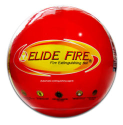 Elide fire balls stop fires when exposed to high heat