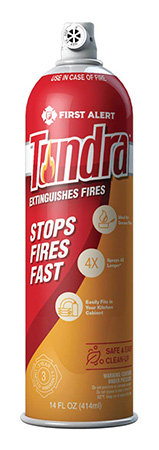 Tundra fire suppressor sprays out fires!